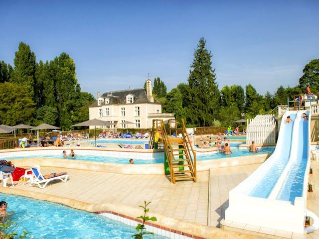 Kinderzwembad chateau des marais