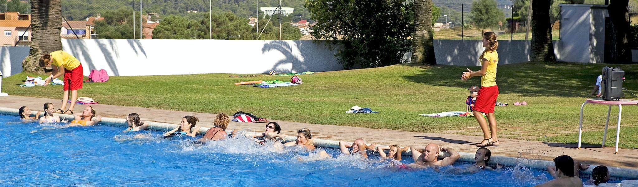 Camping Internacional Palamos aquagym