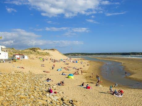 Strand 2 in de buurt van Le Loyada