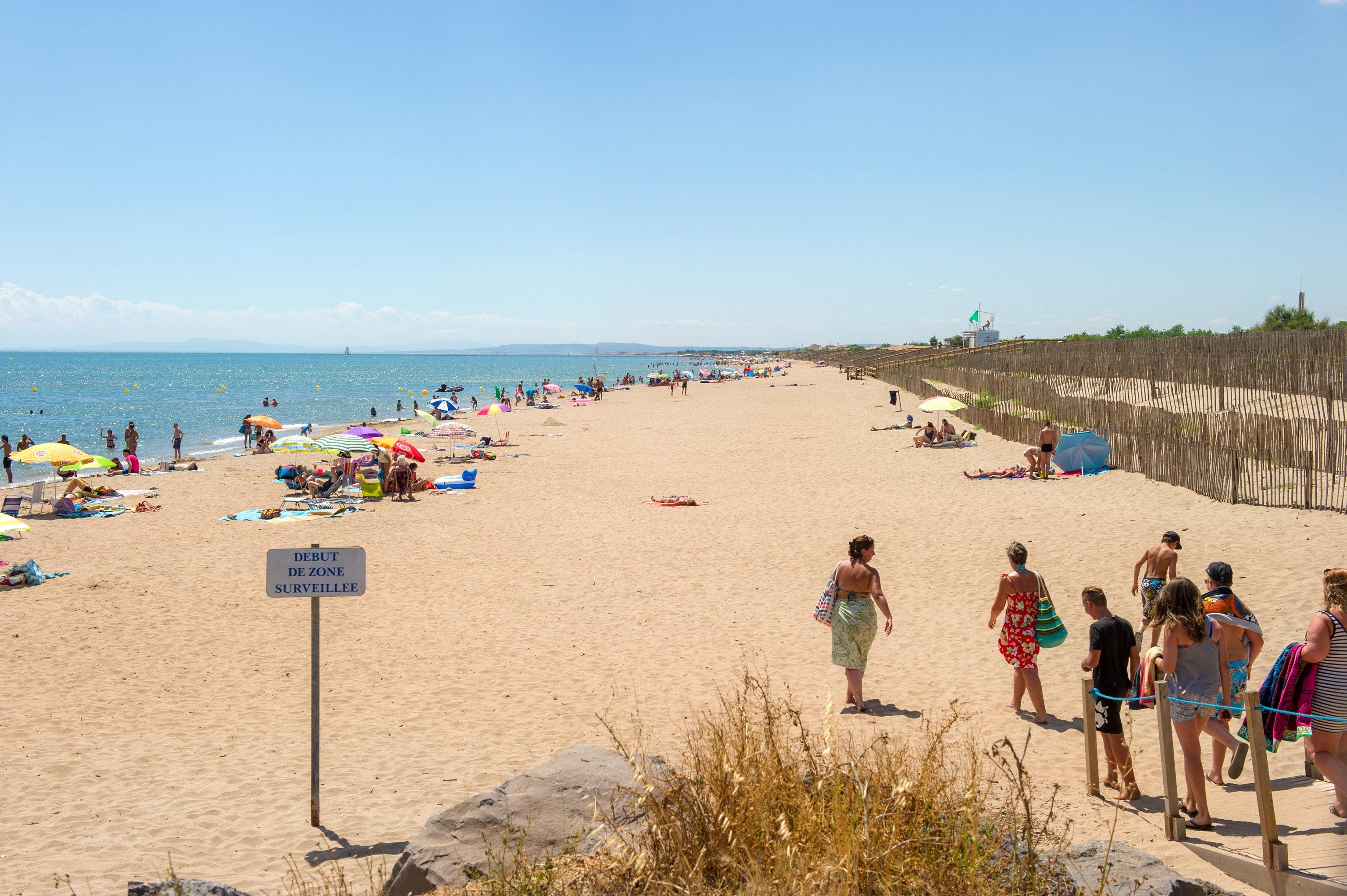Het strand bij Petit Mousse