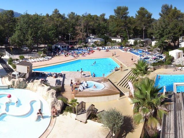 Zwembad Camping Sainte Baume