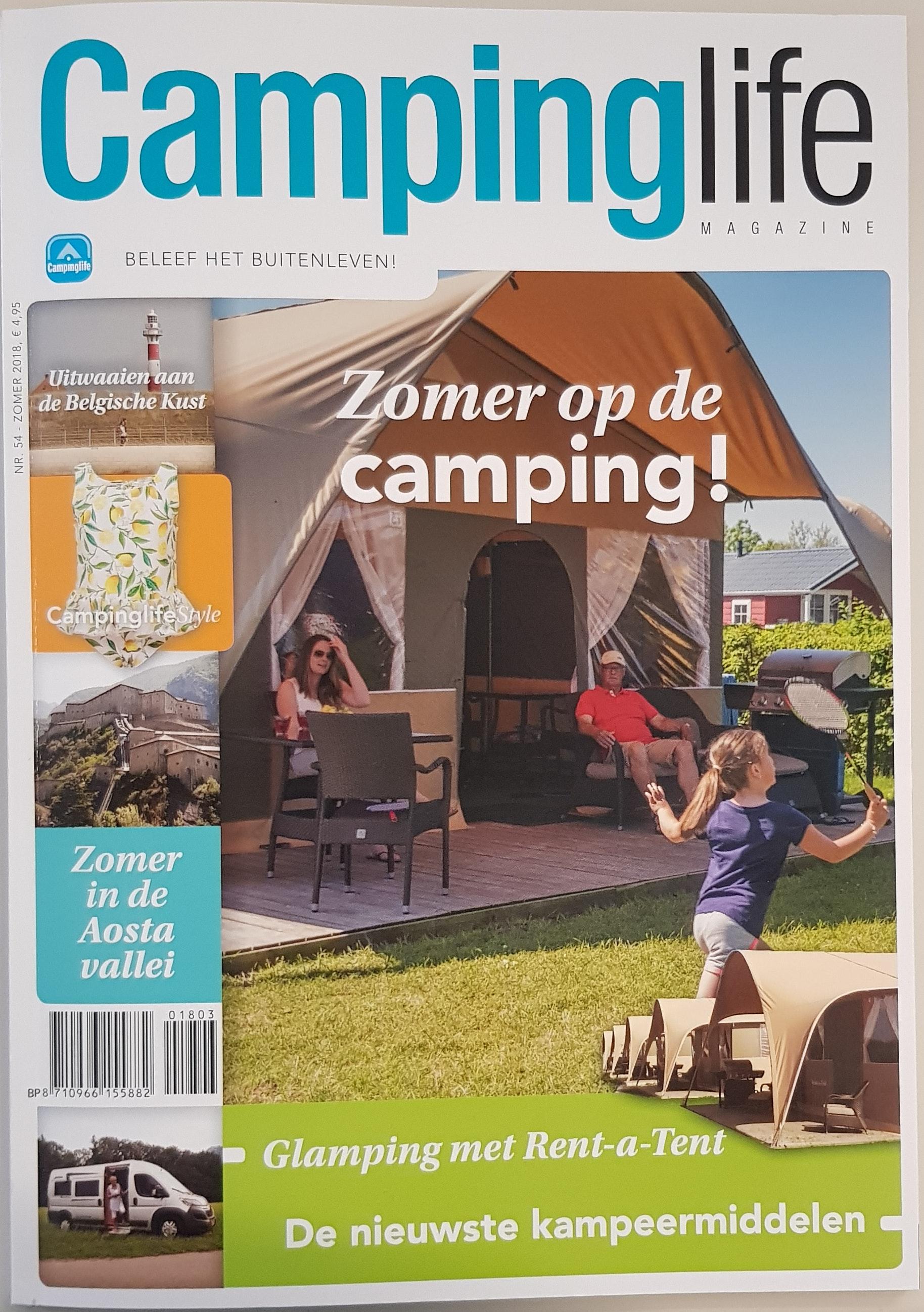 Campinglife zomer 2018 cover