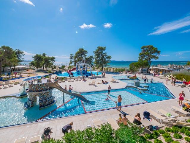 Camping Zaton zwembadcomplex
