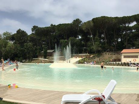 Camping Etruria groot zwembad
