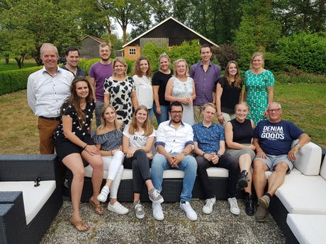 Team Rent a Tent bbq 2018