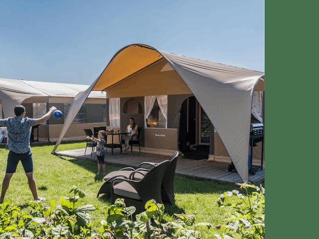 Grand Lodgetent II camping de Pekelinge