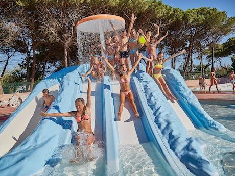 Le Castellas zwembad