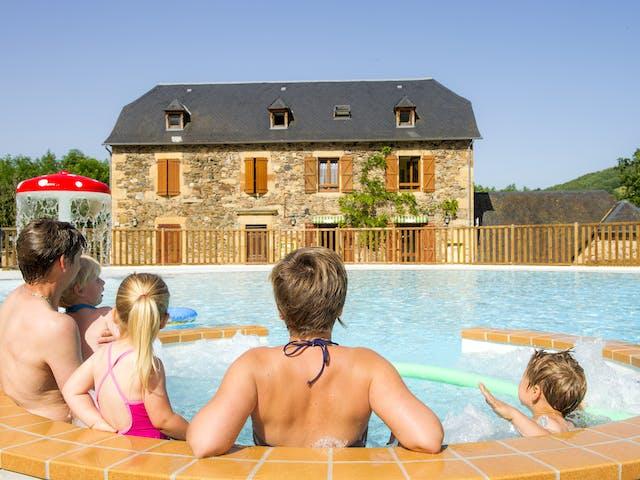 La Boissière zwembad