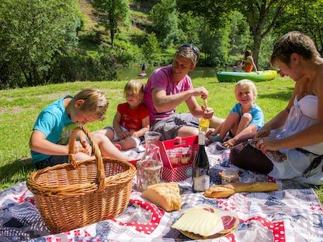 La Boissière picknick