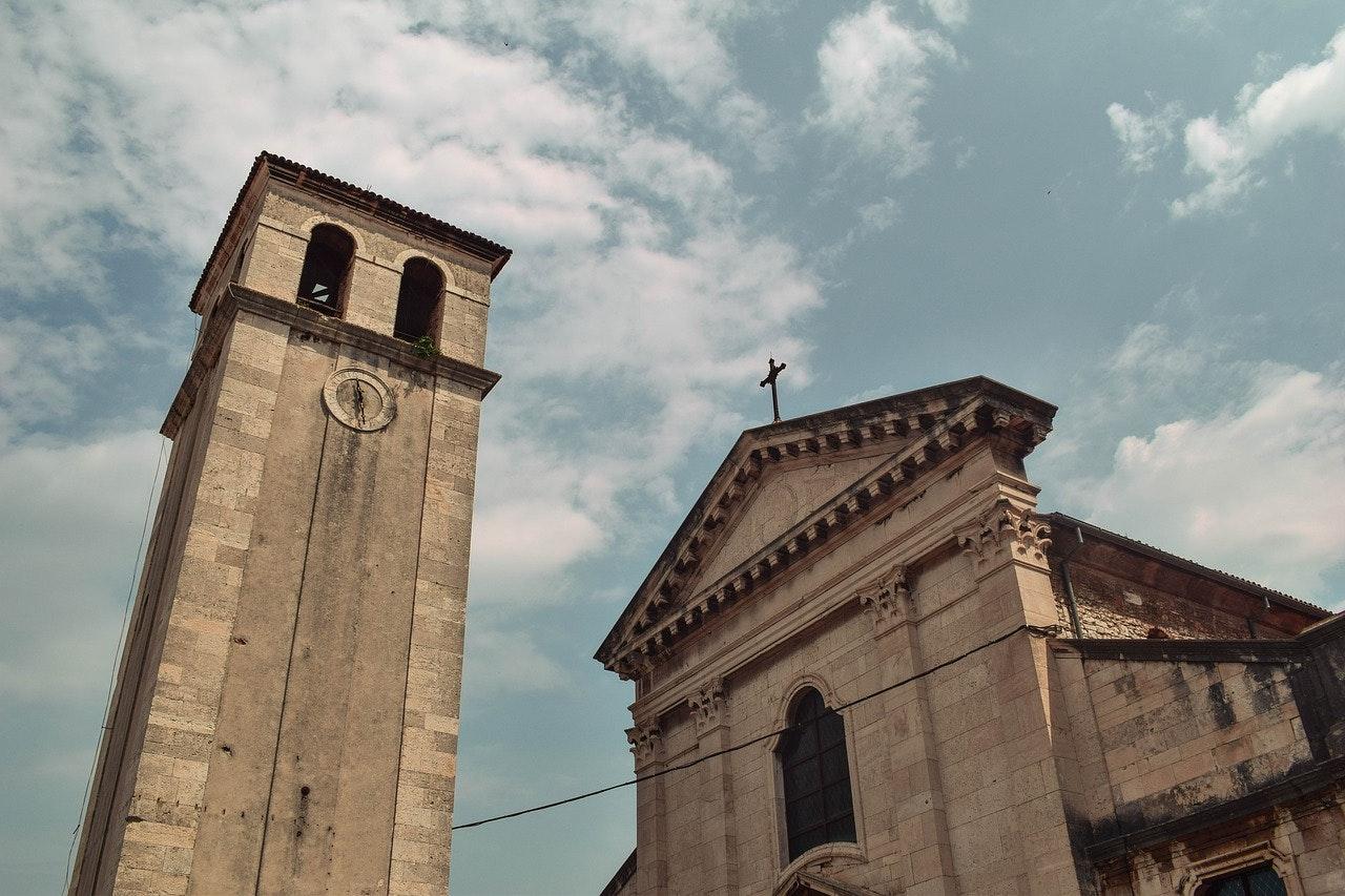 kerk in istrie