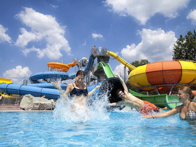 Camping Terme Catez zwembad spetteren