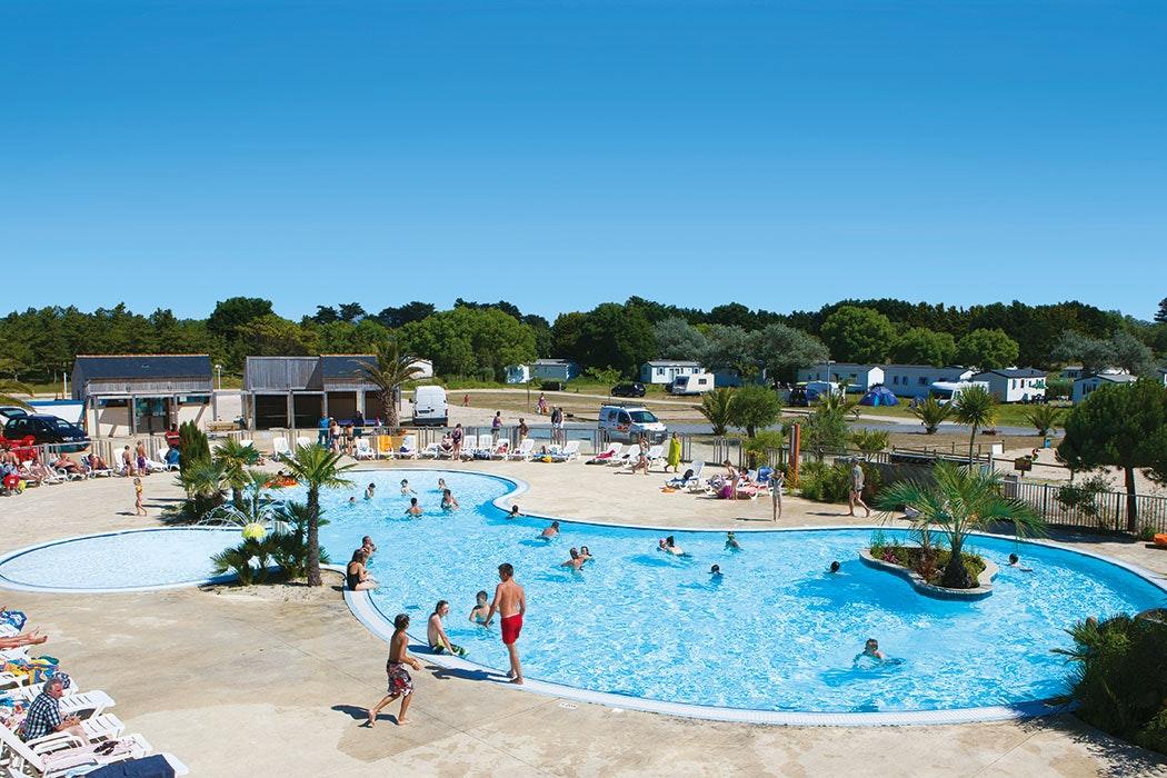 La Baie du Kernic zwembad