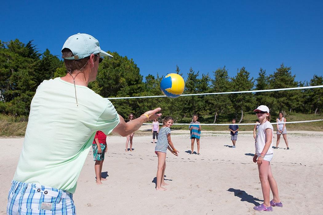 La Baie du Kernic Volleyball