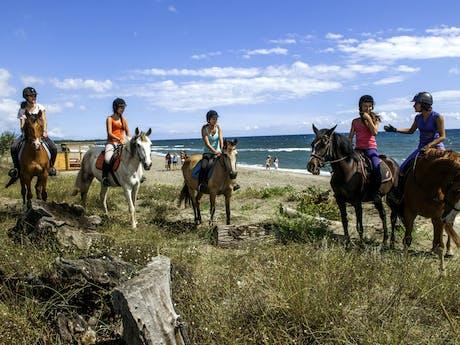 Domaine d'Anghione paardrijden
