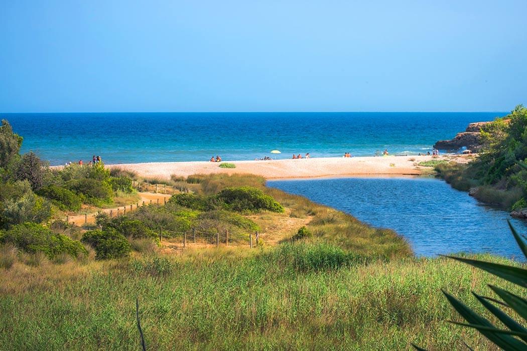 Zee van camping Ametlla