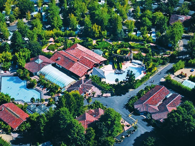Drone foto camping Sen Yan