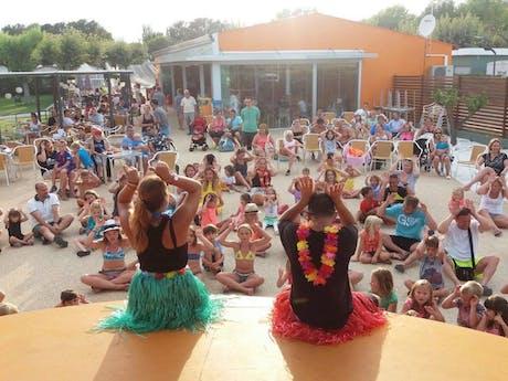 Kinderclub camping Valldaro