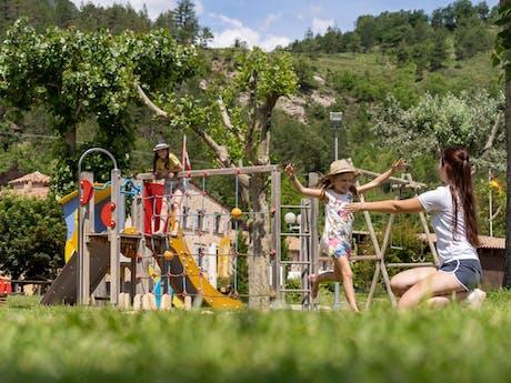 Speeltuin op Domaine du Verdon