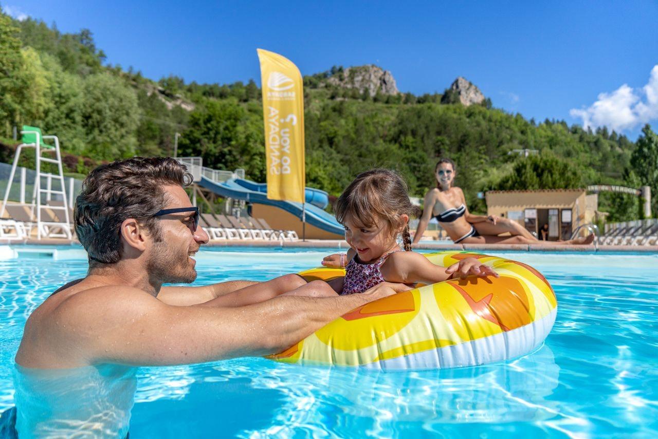 Kind zwembad Domaine Verdon