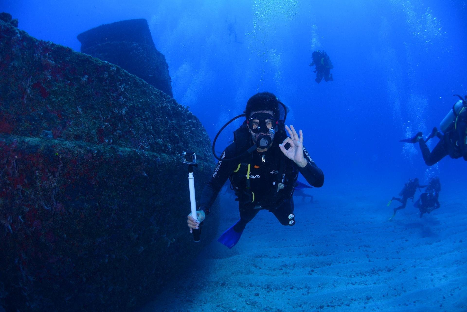 duiken Côte d'Azur