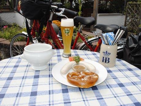 München merengebied Weisswurst