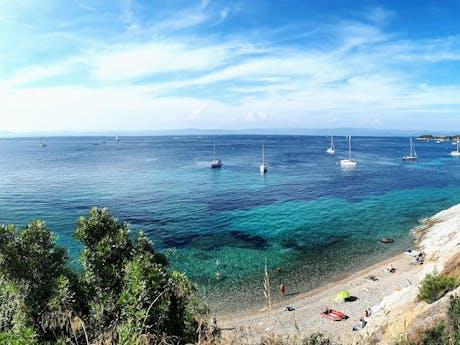Strand in Côte d'Azur
