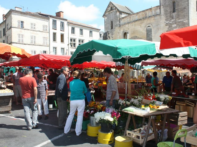 Côte d'Azur leuke markt