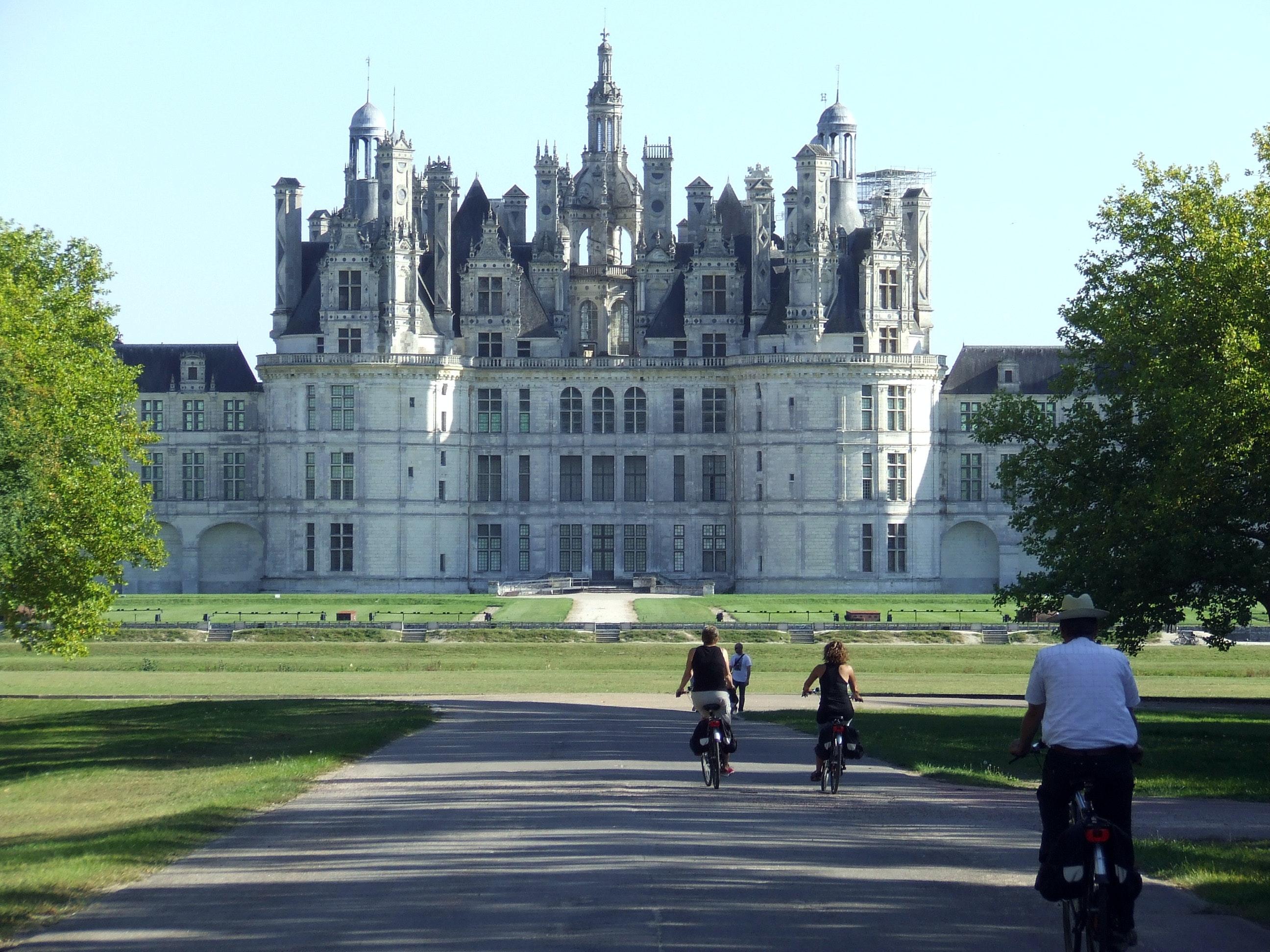 Loire à Vélo kasteel