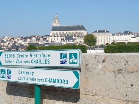 Loire à Vélo routebordje