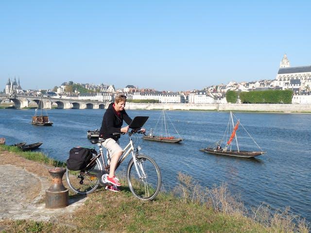 Loire à Vélo kaart lezen