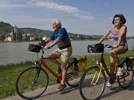 Passau - Wenen fietsers 2