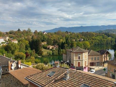 Rhône uitzicht 2