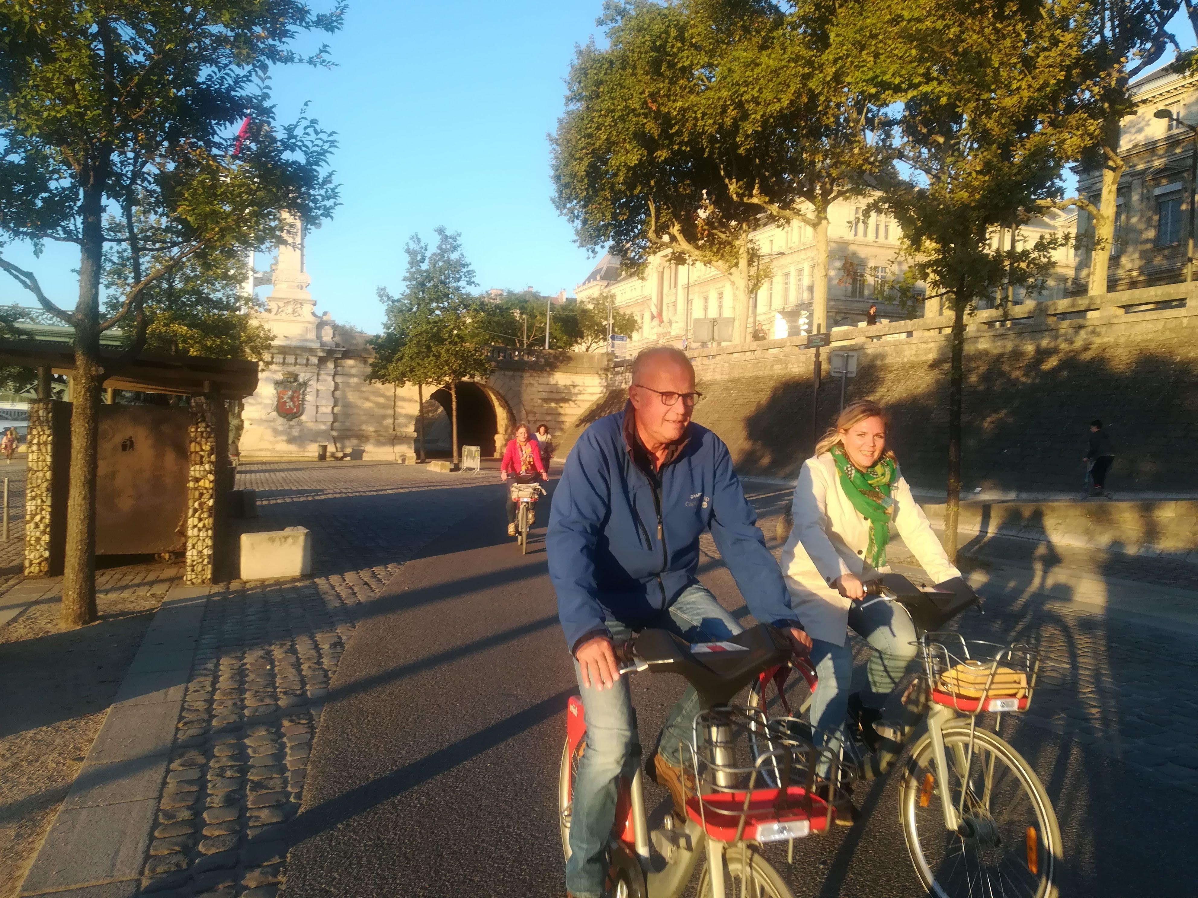 Rhône fietsers