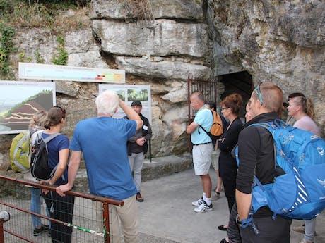 Rhône voor de grot