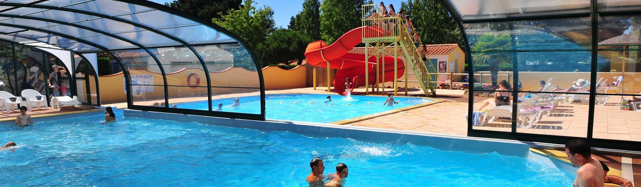 La Trévilière zwembad