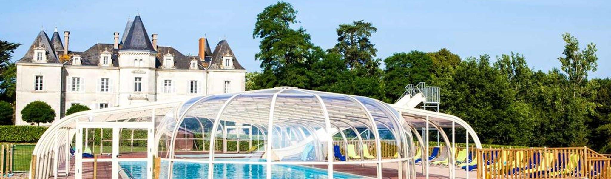 La Foret zwembad en chateau