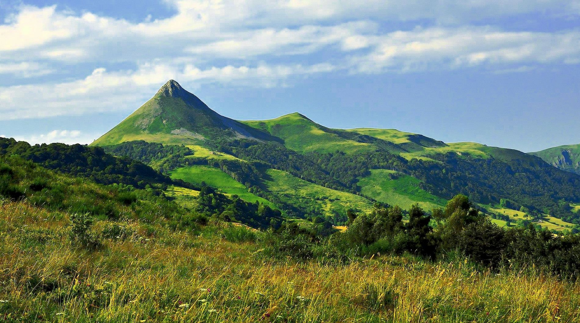 Le Ranch des Volcans bergen