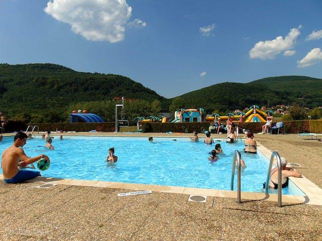 Camping L'Oasis zwembad Oberbronn