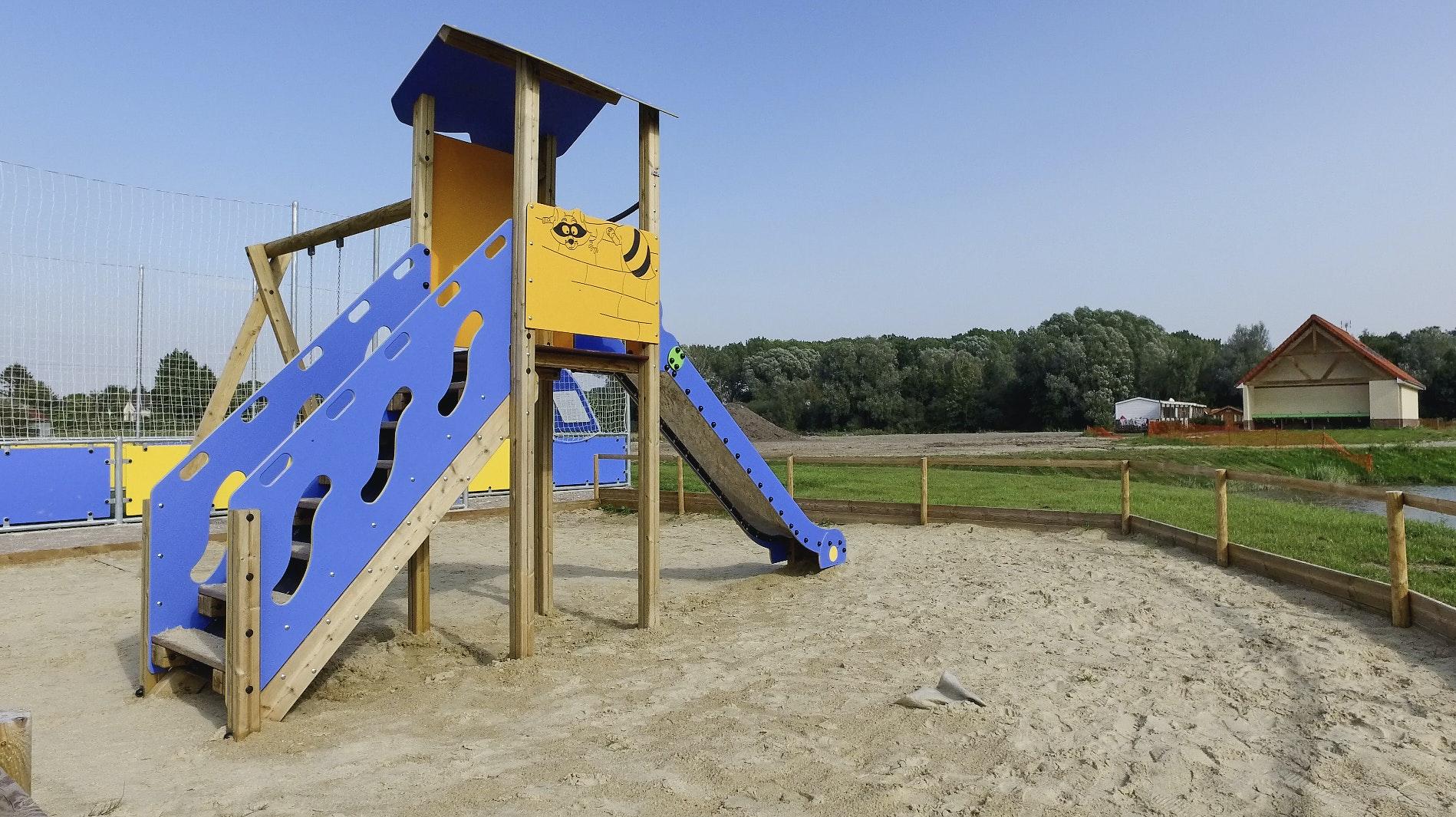 Domaine de la Roseliere speeltuin