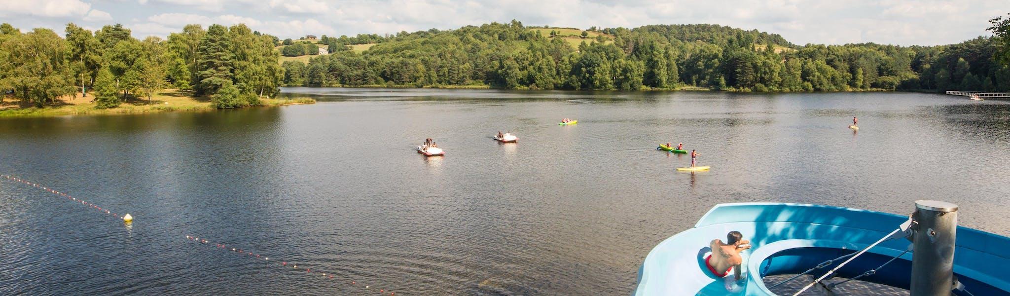 Domaine du Lac de Miel glijbaan