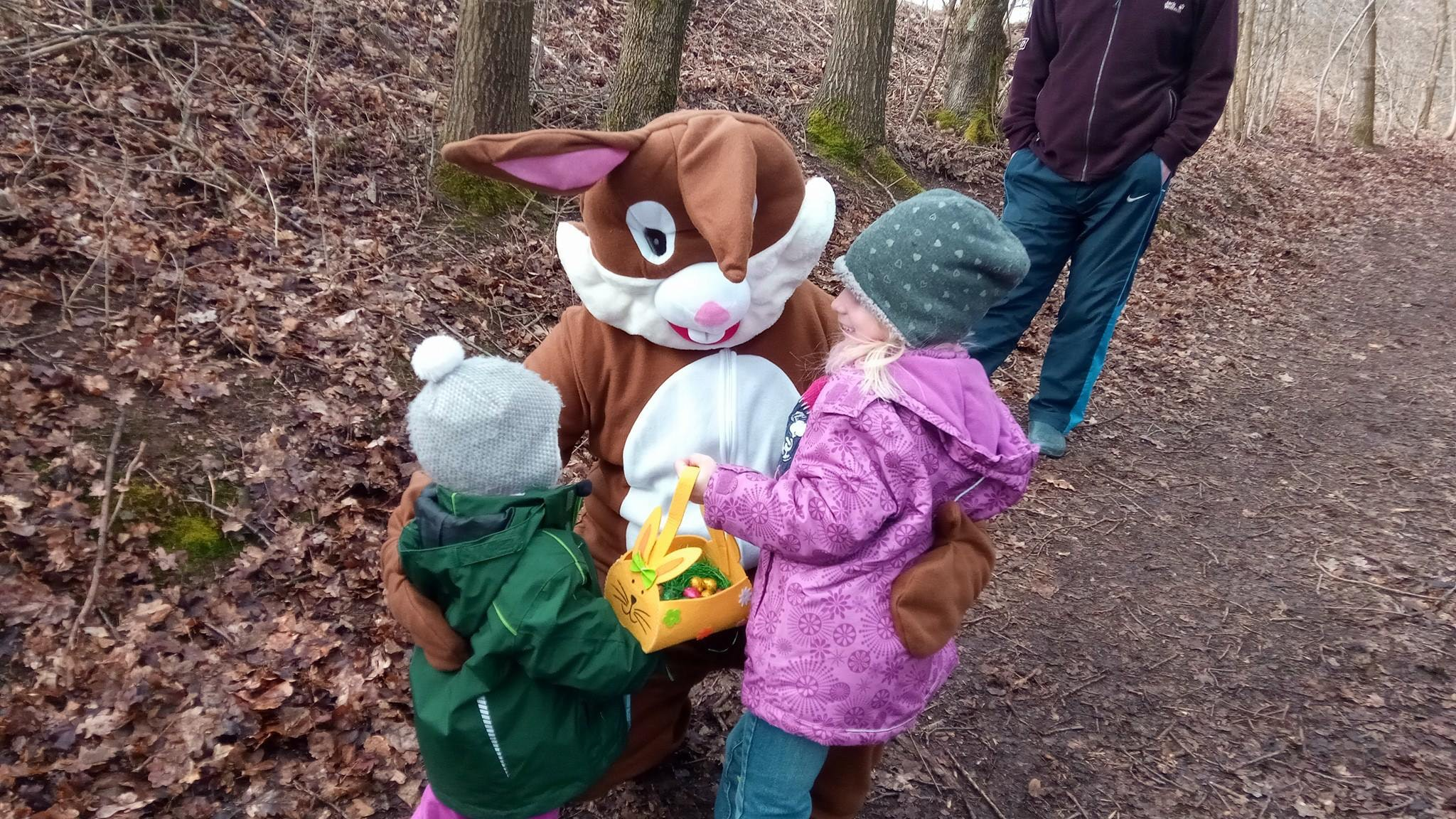 Animatie konijn Knaus camping Walkenried