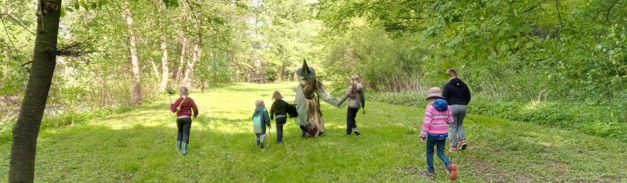 Wandeling met animatie camping Walkenried