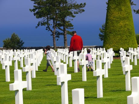 Normandië begraafplaats