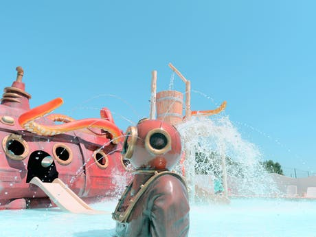 Aventuriers de La Calypso waterspeeltuin