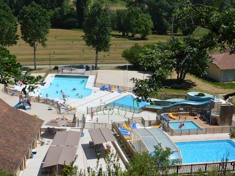 Camping Le Moulin de Paulhiac zwemparadijs