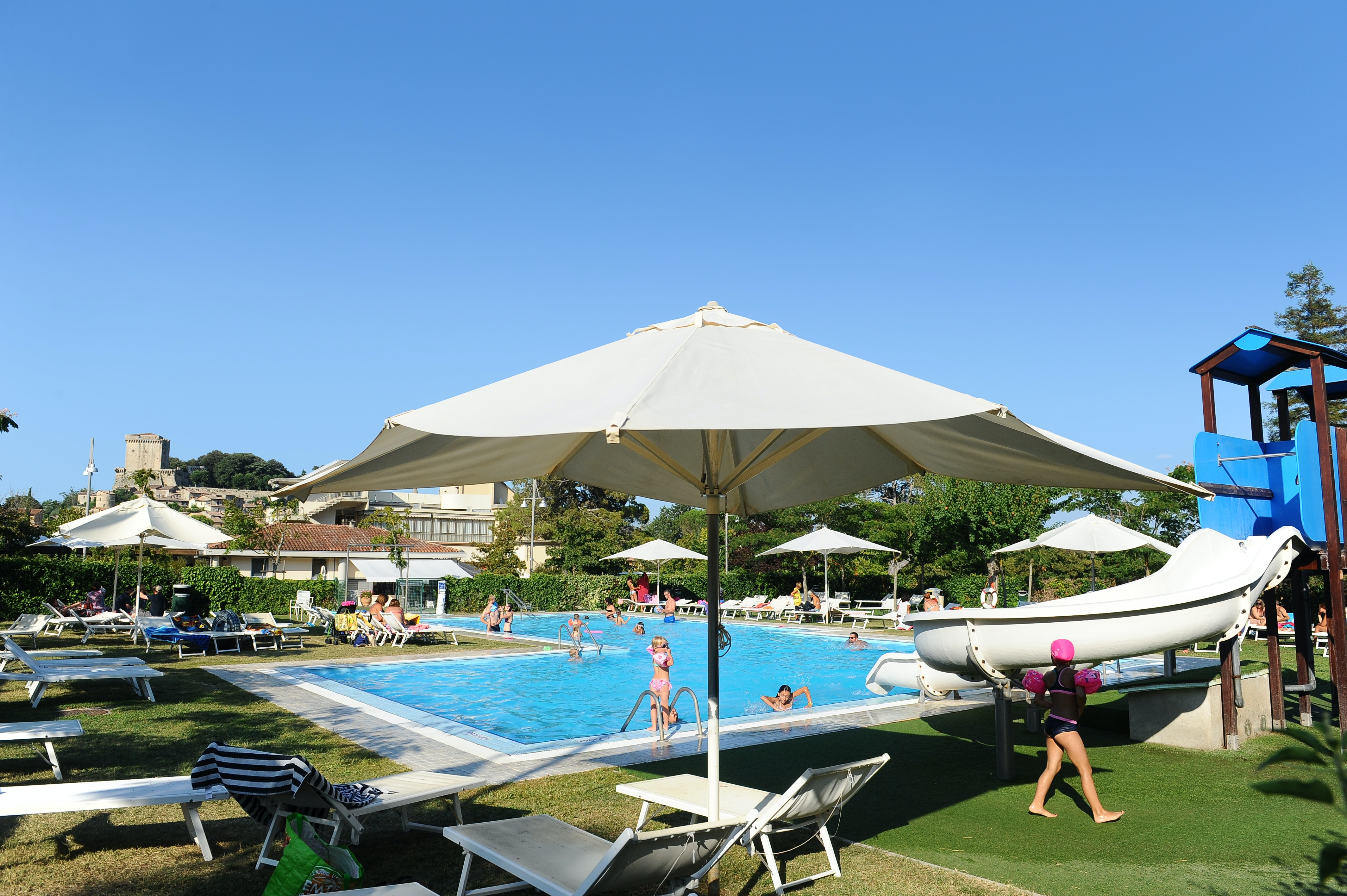 Camping Parco delle Piscine zwembad ligweide