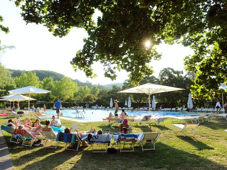 Ligweide zwembad Parco delle Piscine