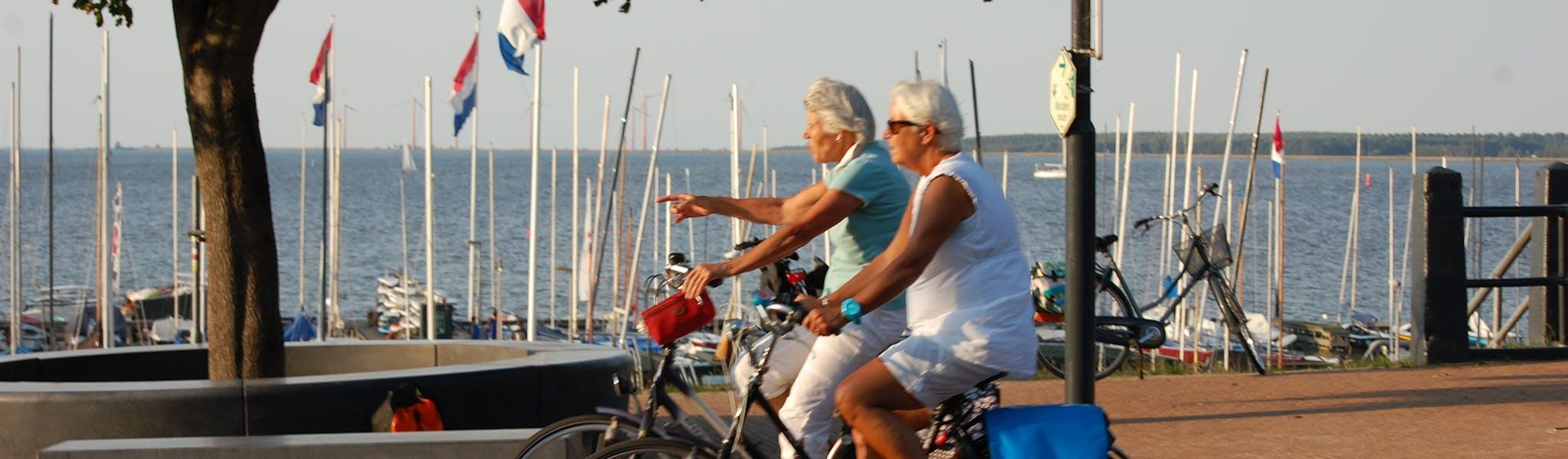 IJsselmeer fietsen