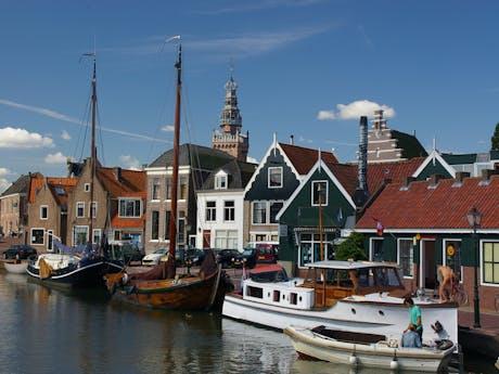 IJsselmeer historisch dorp