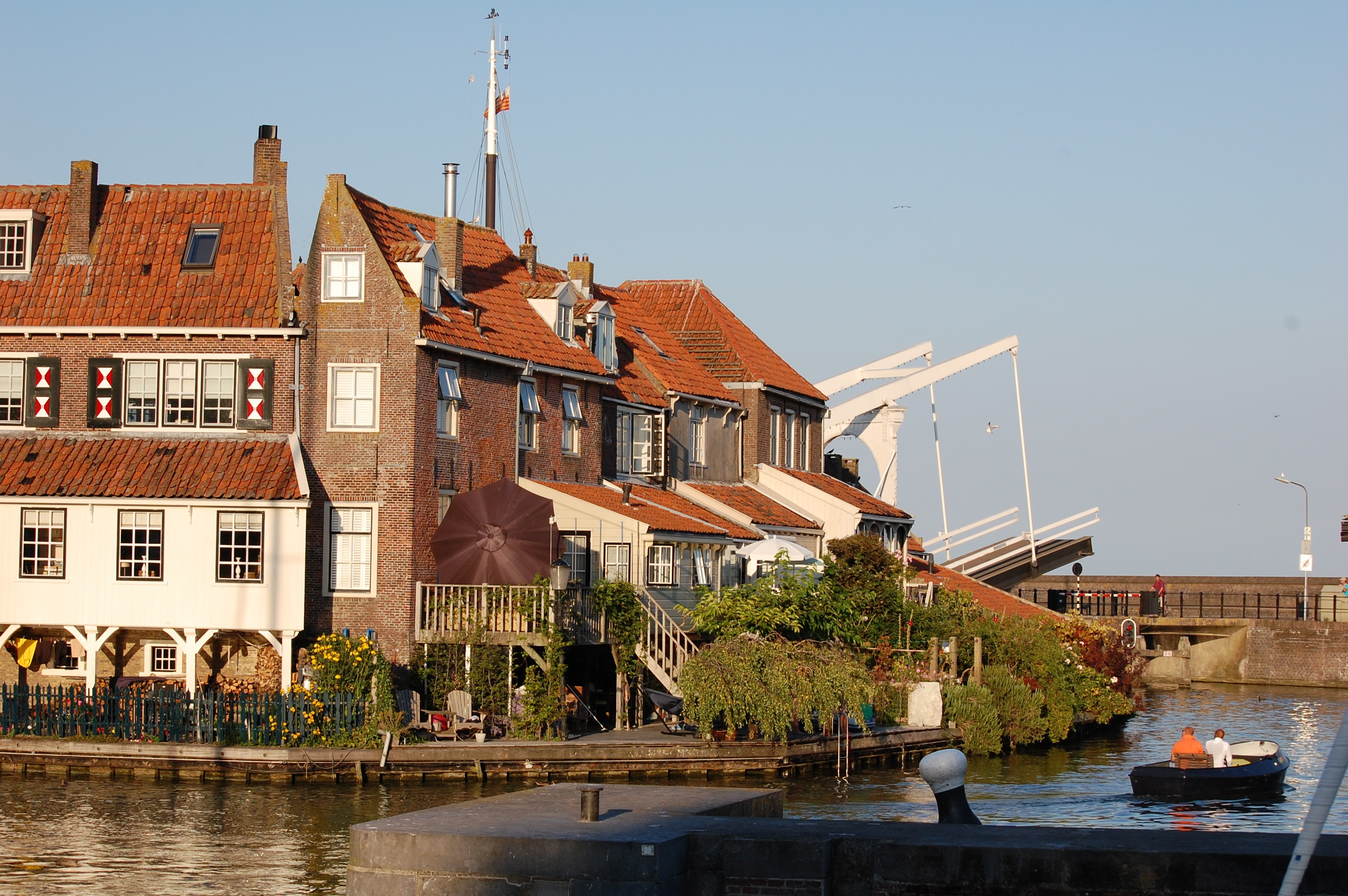 IJsselmeer open brug